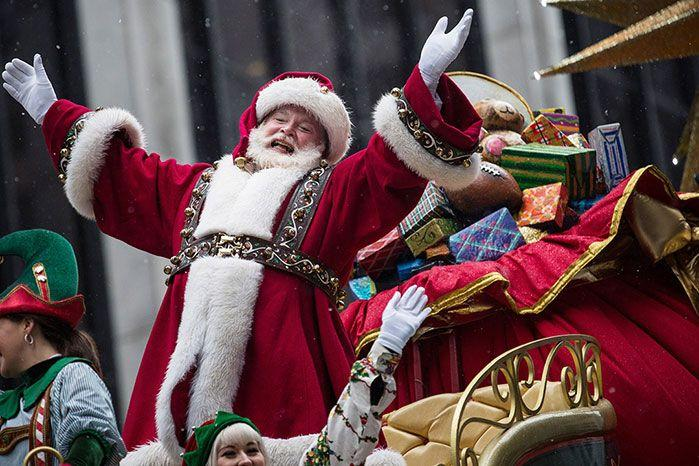 Santa Claus spreads Christmas cheer across the globe. Image: Getty