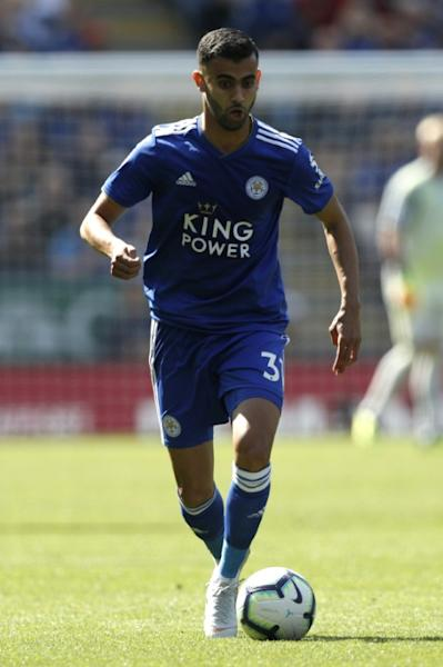 Rachid Ghezzal scored his first Premier League goal in a losing effort for Leicester