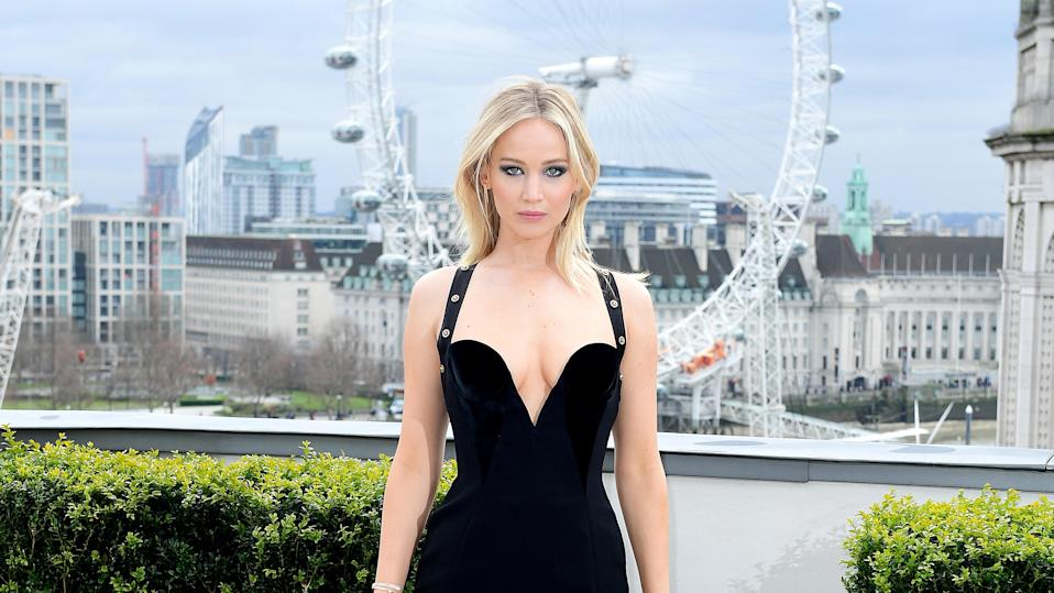 Jennifer Lawrence has responded to the controversy over the revealing dress she wore to a winter photo call