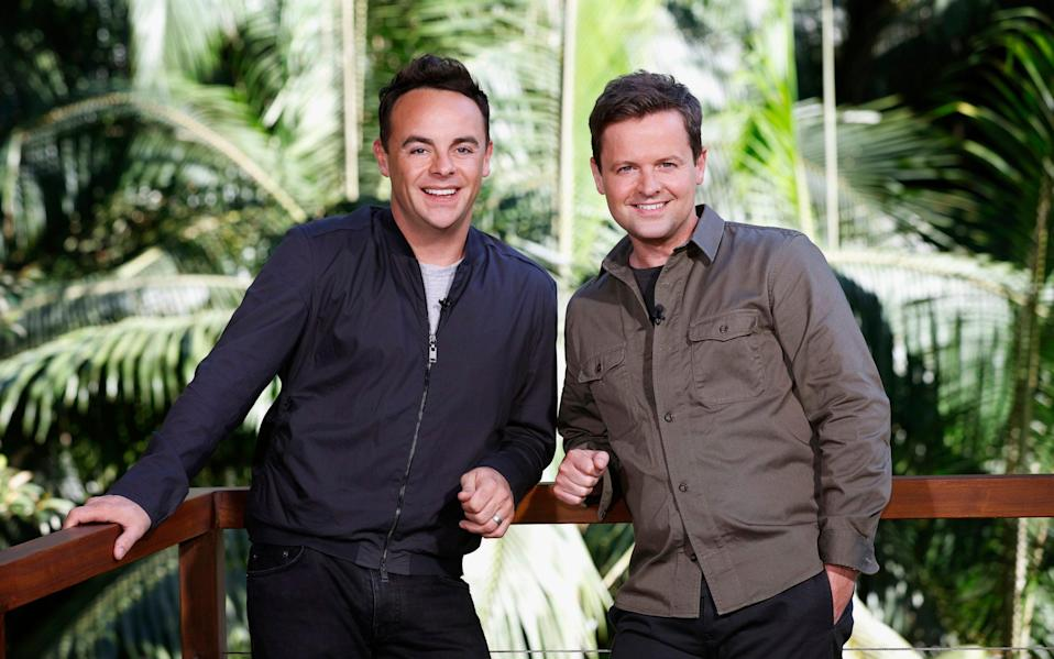 Ant and Dec return for the first series of I'm a Celebrity to be set in the UK