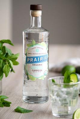 Simply combine Prairie Organic Cucumber, Mint & Lime Flavored Gin with soda water and ice to fully experience the refreshing flavor profiles and botanicals within each bottle.