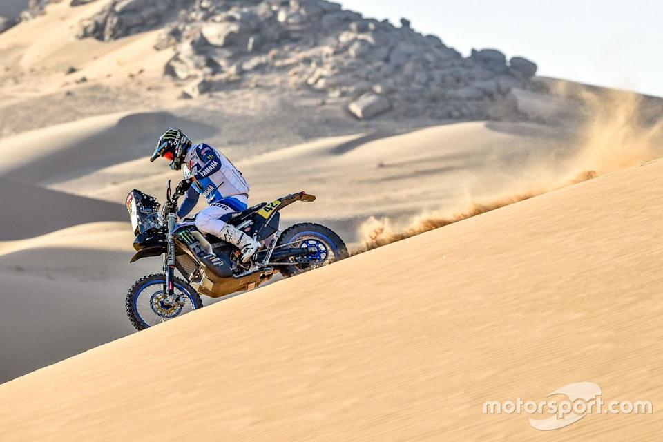 "#42 Monster Energy Yamaha Rally Team: Adrien Van Beveren<span class=""copyright"">Yamaha Motor Racing</span>"