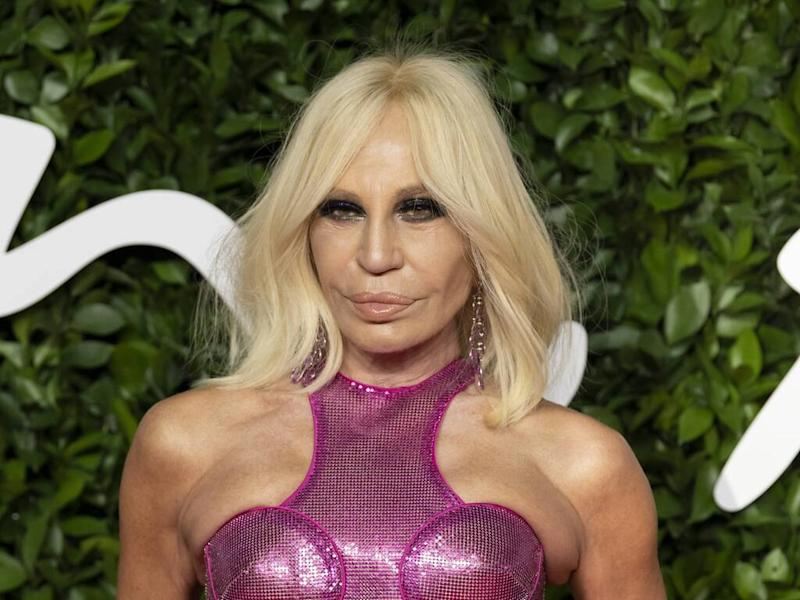 Donatella Versace has a beauty salon in her home