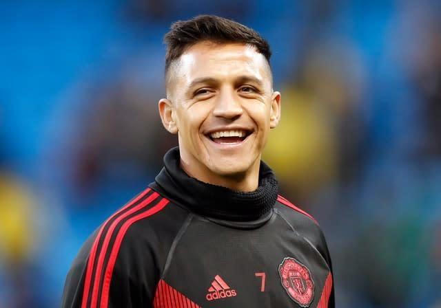 Manchester United's Alexis Sanchez has been sent out on loan (Martin Rickett/PA)