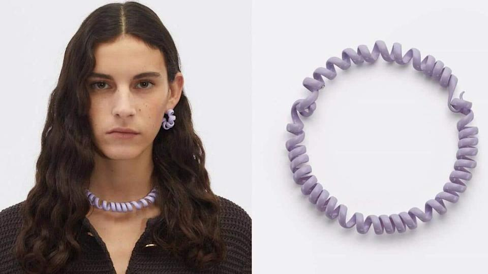 Telephone cord-styled necklace for Rs. 1.45L? Internet left amused, unimpressed