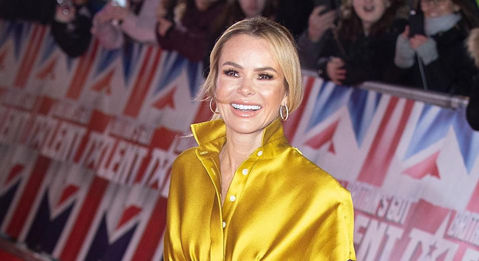 Amanda Holden spoke on the White Wine Question Time podcast. [Photo: Getty]