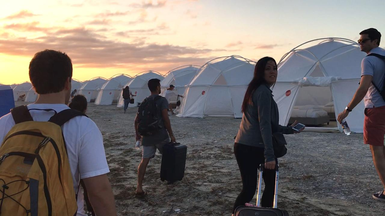 Netflix's <em>Fyre: The Greatest Party That Never Happened</em> offers viewers a behind-the-scenes look at what led to events of the infamous fail that was the 2017 Fyre Festival. The documentary features interviews with some of the staff as well as giving details regarding how Fyre creator Billy McFarland pulled off the biggest scam of the decade.