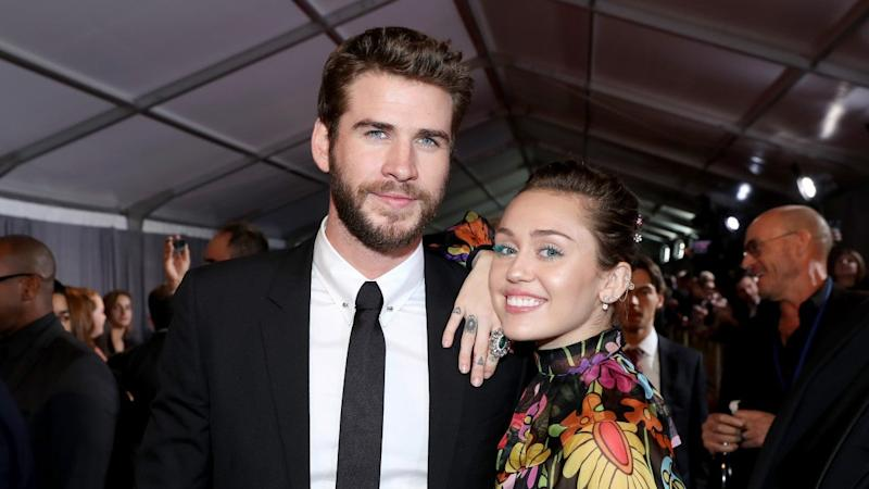 Miley hilariously made fun of her short marriage to Liam on Instagram