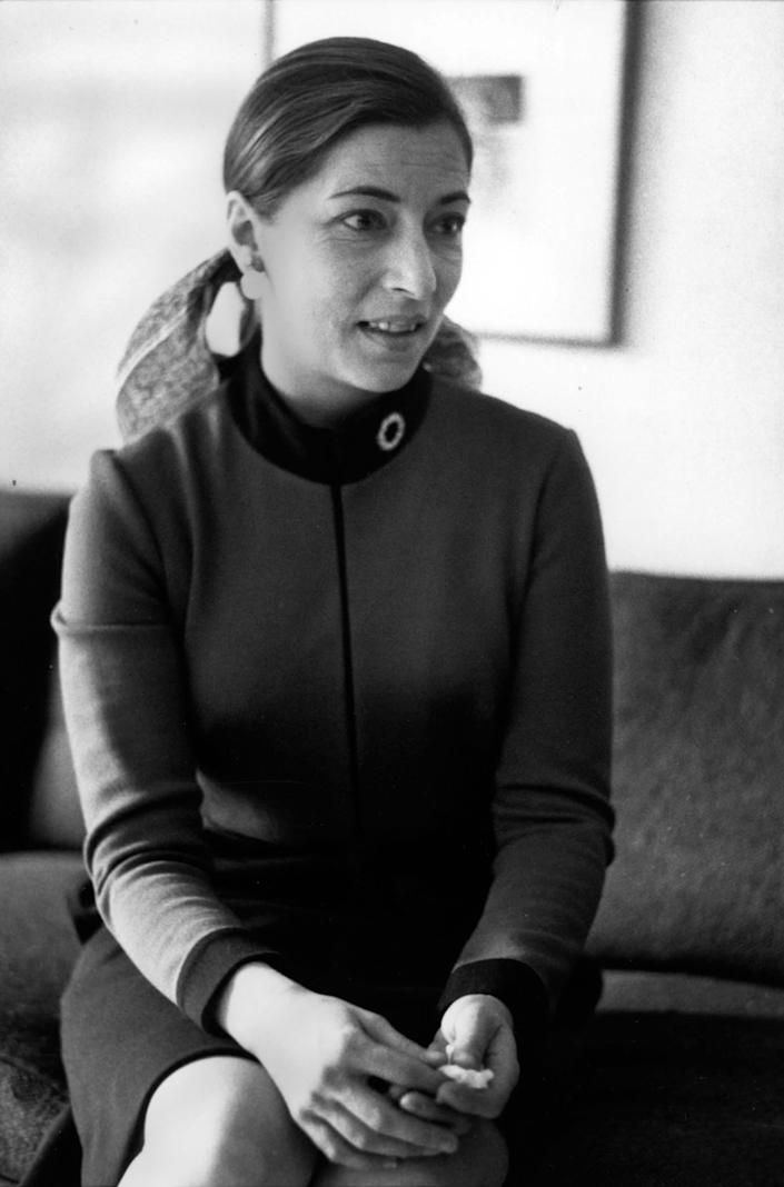 "1972 Ruth Bader Ginsburg in New York, when she was named a professor at Columbia Law School. <span class=""copyright"">Librado Romero—The New York Times/Redux</span>"