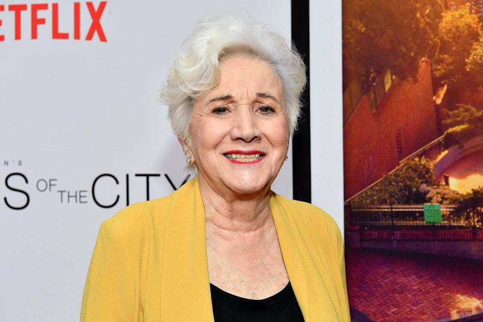 """<p><strong>Moonstruck</strong> star Olympia Dukakis died on May 1 at the age of 89. """"<a href=""""https://www.cnn.com/2021/05/01/entertainment/olympia-dukakis-death/index.html"""" class=""""link rapid-noclick-resp"""" rel=""""nofollow noopener"""" target=""""_blank"""" data-ylk=""""slk:Her brother Apollo Dukakis"""">Her brother Apollo Dukakis</a>, her sons Stefan and Peter Zorich, and four grandchildren thank you for your love, prayers, and kind remembrances during this difficult time,"""" the family said in a statement. """"<a href=""""https://www.facebook.com/apollo.dukakis/posts/2174035896072022"""" class=""""link rapid-noclick-resp"""" rel=""""nofollow noopener"""" target=""""_blank"""" data-ylk=""""slk:After many months of failing health"""">After many months of failing health</a> she is finally at peace and with her Louis,"""" her brother Apollo Dukakis added on Facebook. </p> <p>In 1988, she won an Oscar for best supporting actress for her role as Rose Castorini in <strong>Moonstruck</strong>. She went on to have roles as Clairee Belcher in 1989's <strong>Steel Magnolias</strong>, Rose in the Look Who's Talking franchise, and Anna Madrigal on <strong>Tales of the City</strong>.</p>"""