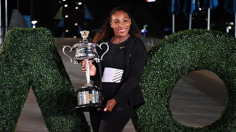 Organisers are confident Williams will be back to defend her Aus Open title. Pic: Getty
