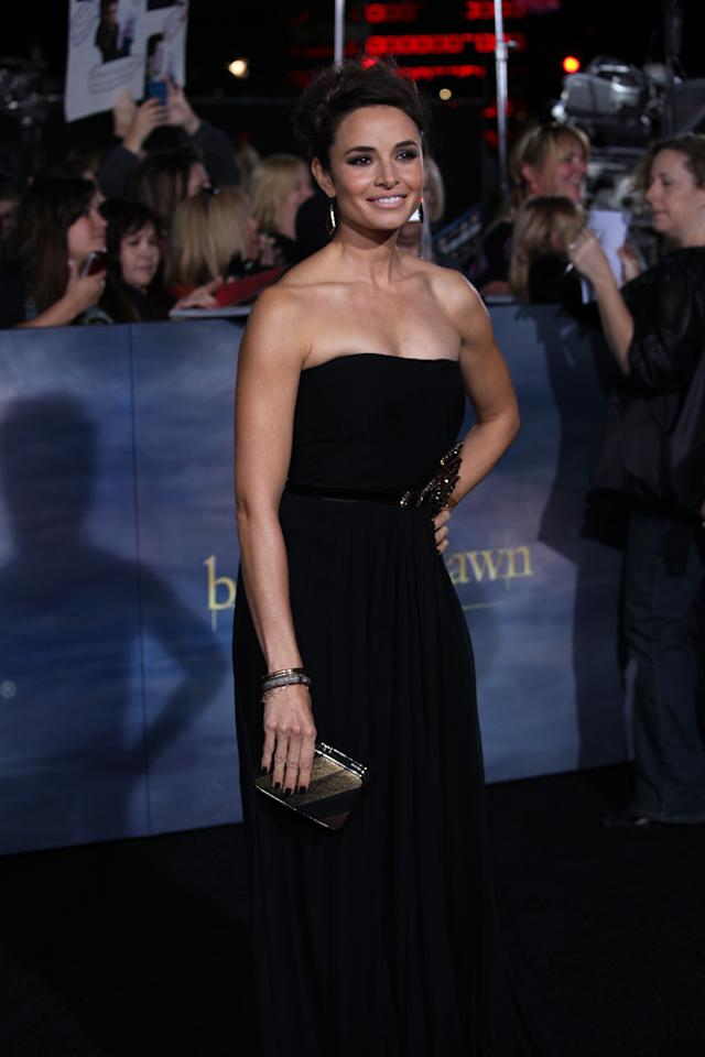 """Mia Maestro arrives at """"The Twilight Saga: Breaking Dawn - Part 2"""" Los Angeles premiere at the Nokia Theatre L.A. Live on November 12, 2012 in Los Angeles, California."""