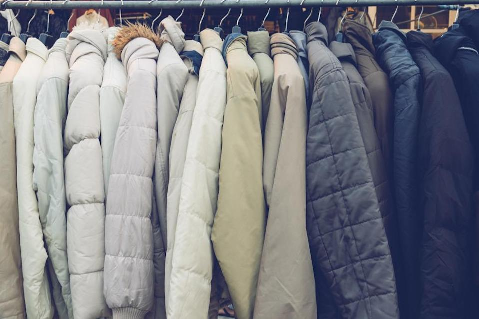 Before your local coat drives get inundated with donations, McCubbin suggests having your family go through their coats in the early fall, setting aside anything that's too small. Not only will you be doing a good deed, but you'll also finally have more space in your entryway or closet!
