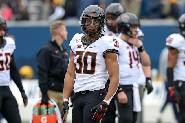 Running back Chuba Hubbard has maintained that change is necessary under Mike Gundy's watch at Oklahoma State. (Photo by Frank Jansky/Icon Sportswire via Getty Images)