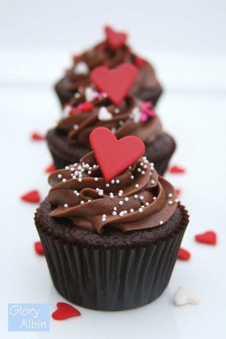 """<p>Bake me chocolate, win my heart.</p><p>Get the recipe from <a href=""""http://www.glorioustreats.com/2010/04/recipe-perfectly-chocolate-cupcakes.html"""" rel=""""nofollow noopener"""" target=""""_blank"""" data-ylk=""""slk:Glorious Treats"""" class=""""link rapid-noclick-resp"""">Glorious Treats</a>.</p>"""