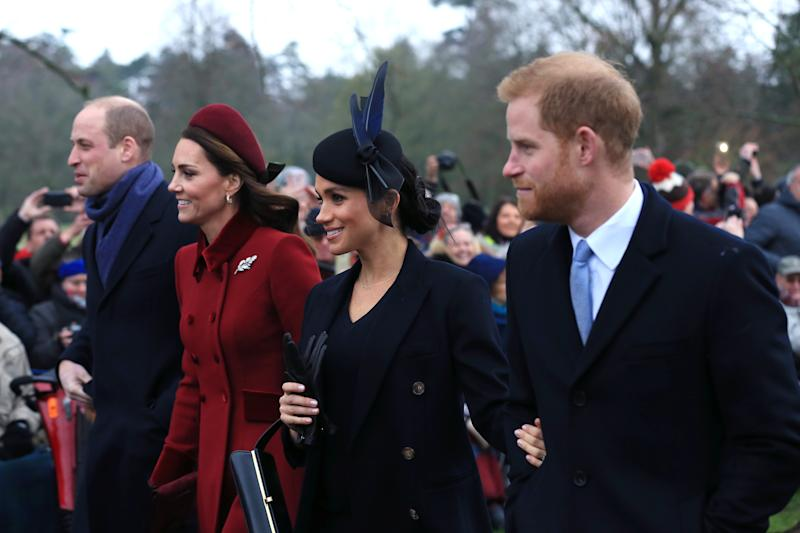 The couple feel supported by other royals [Photo: Getty]