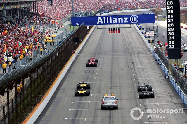 """Skandalrennen in Indianapolis (2005): <span class=""""copyright"""">Steve Swope / Motorsport Images</span>"""