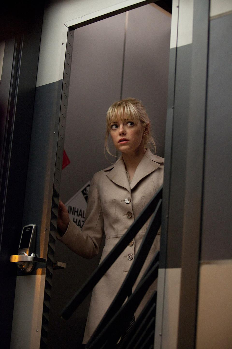 """Emma Stone in in Columbia Pictures' """"The Amazing Spider-Man"""" - 2012"""