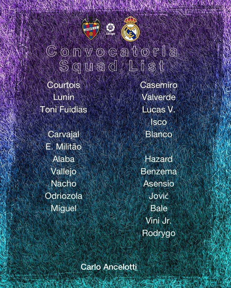 Foto: Twitter oficial del Real Madrid.