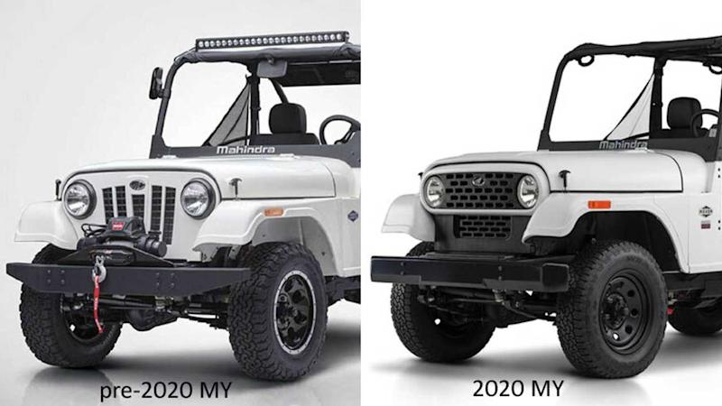 2020 Mahindra Roxor Ditches Its Jeep Face