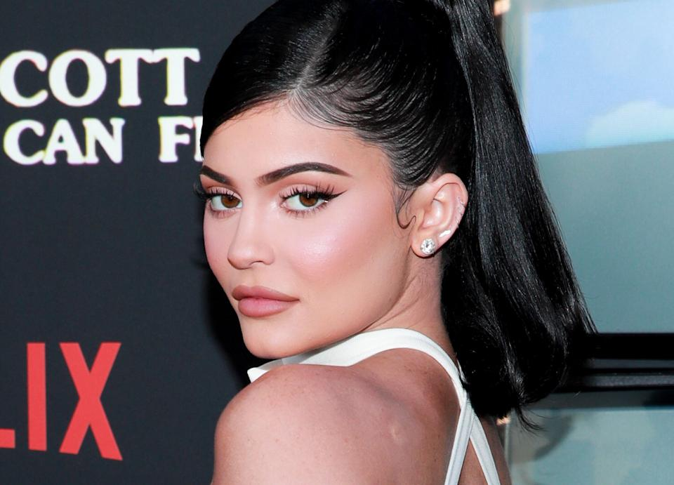 "Kylie Jenner attends the premiere of Netflix's ""Travis Scott: Look Mom I Can Fly""  in August 2019.  (Photo: Rich Fury via Getty Images)"