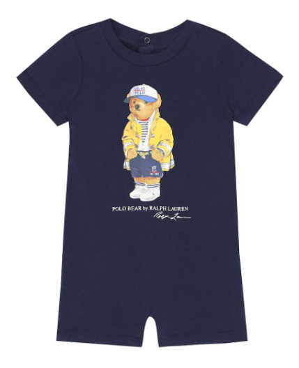 Polo Ralph Lauren Kids baby cotton-jersey onesie, S$62 (was 89), 30% off. PHOTO: Mytheresa
