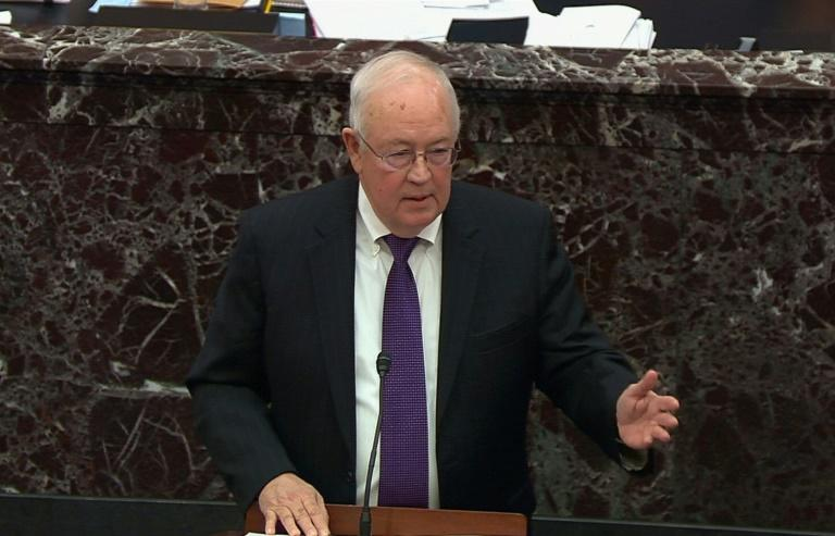 Ken Starr, whose investigation led to the impeachment of president Bill Clinton, defends President Donald Trump at his Senate impeachment trial