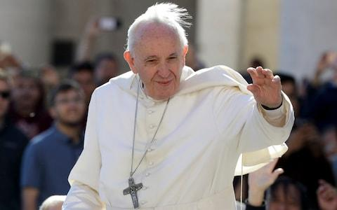 Pope Francis' push for more transparency has been sabotaged by Vatican insiders, according to the book - Credit: AP