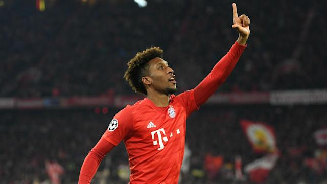 Bayern Munich welcomed Kingsley Coman back into training on Thursday as he steps up his recovery from a knee injury.
