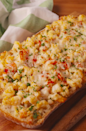 """<p>Some people say cheese doesn't go with seafood. We say they haven't tried this bread.</p><p>Get the recipe from <a href=""""https://www.delish.com/cooking/recipe-ideas/recipes/a54288/cheesy-shrimp-garlic-bread-recipe/"""" rel=""""nofollow noopener"""" target=""""_blank"""" data-ylk=""""slk:Delish"""" class=""""link rapid-noclick-resp"""">Delish</a>.</p>"""