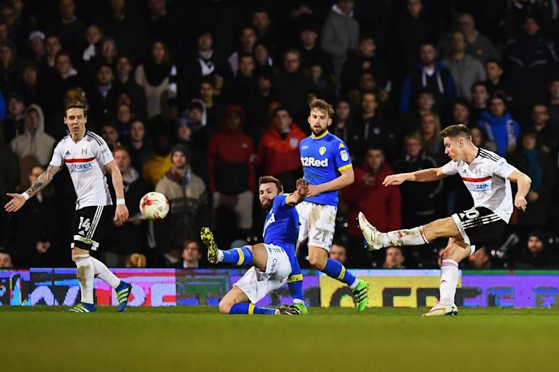 Cairney curls home a late equaliser: Getty Images