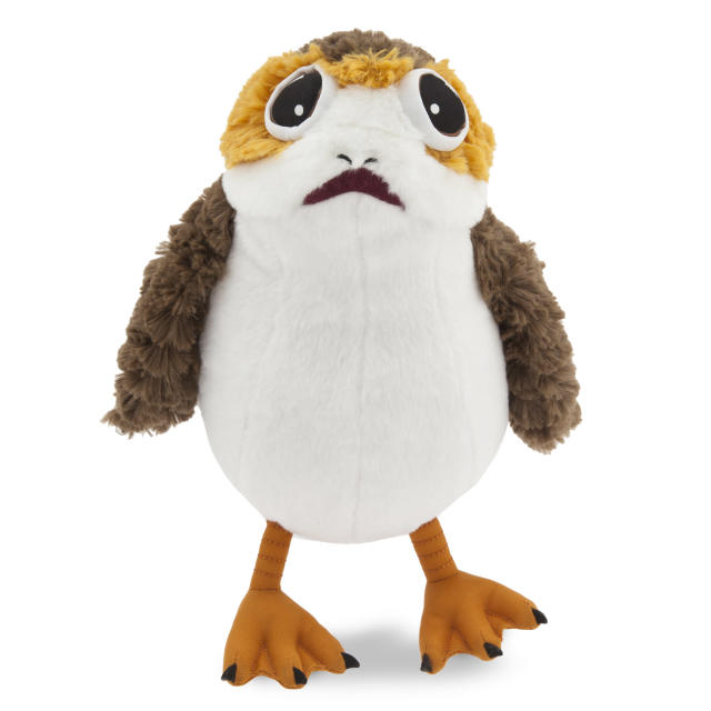 <p>Among the myriad plush porgs out there, we present this huggable 9-inch version, available for $15 from DisneyStore.com. </p>