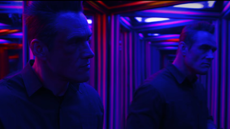 The funhouse mirror rooms sequence in 'Stranger Things' (Photo: Netflix)