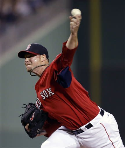 Boston Red Sox starting pitcher Jon Lester throws in the first inning of an exhibition spring training baseball game against the Pittsburgh Pirates, Friday, March 1, 2013, in Fort Myers, Fla. (AP Photo/David Goldman)