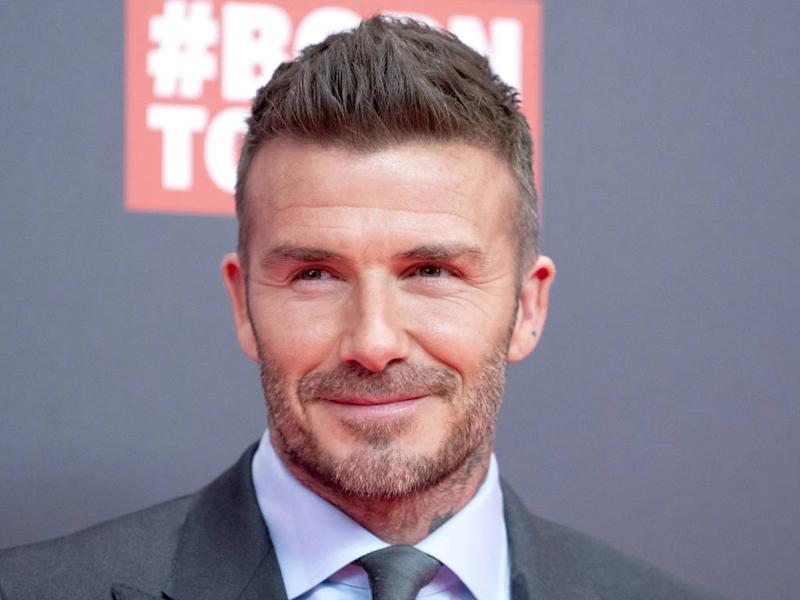 David Beckham knew 2000s photoshoot with David LaChapelle was 'risky'
