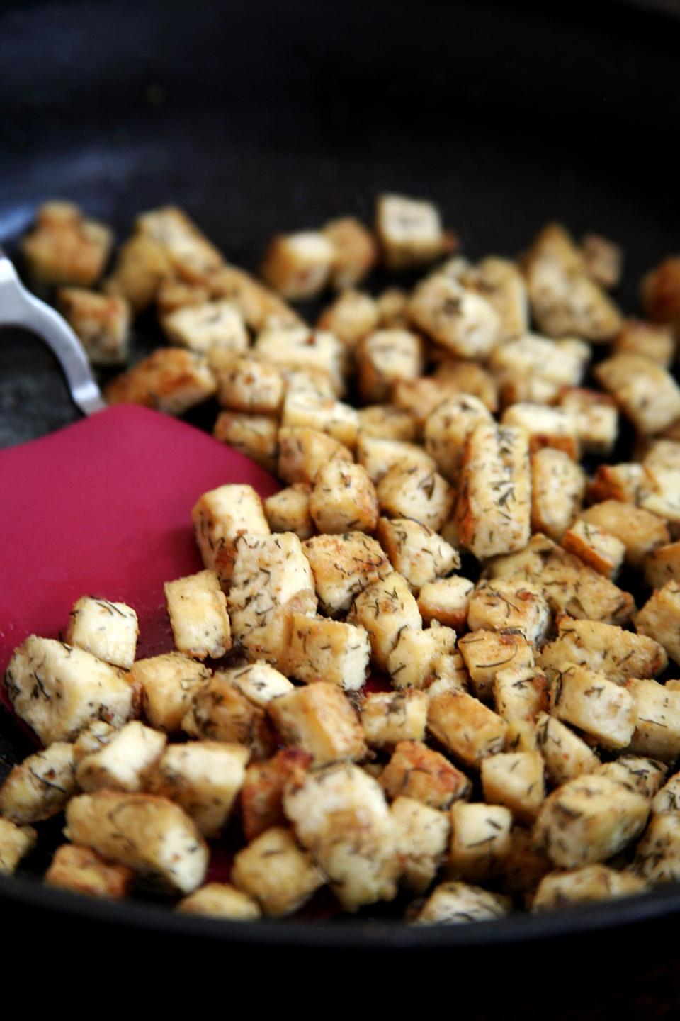 "<p>Make eating healthy feel more exciting by learning how to cook a new nutritious food, like <a href=""https://www.popsugar.com/fitness/How-Cook-Tofu-34429412"" class=""link rapid-noclick-resp"" rel=""nofollow noopener"" target=""_blank"" data-ylk=""slk:tofu"">tofu</a>, <a href=""https://www.popsugar.com/fitness/Mexican-Tempeh-Quinoa-Salad-35360978"" class=""link rapid-noclick-resp"" rel=""nofollow noopener"" target=""_blank"" data-ylk=""slk:tempeh"">tempeh</a>, or <a href=""https://www.popsugar.com/fitness/How-Cook-Beans-Slow-Cooker-40544658"" class=""link rapid-noclick-resp"" rel=""nofollow noopener"" target=""_blank"" data-ylk=""slk:dry beans from scratch"">dry beans from scratch</a>.</p>"