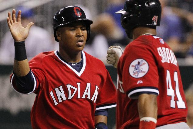 Indians beat Royals 3-2 in 11 innings