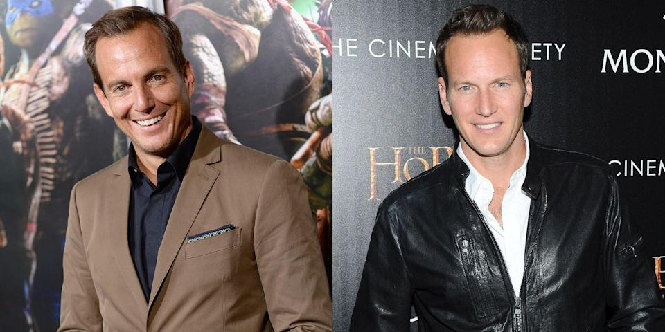 <p>We know that Will Arnett and Patrick Wilson aren't actually related, but with their strikingly similar features, we'd believe they were brothers. </p>