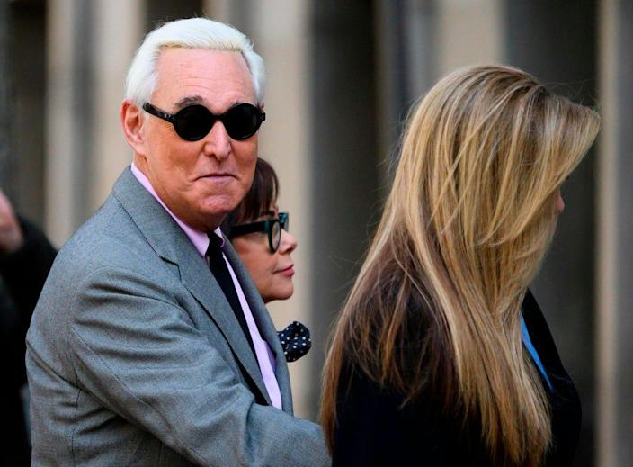 Roger Stone in Washington, D.C., on Nov. 5, 2019.
