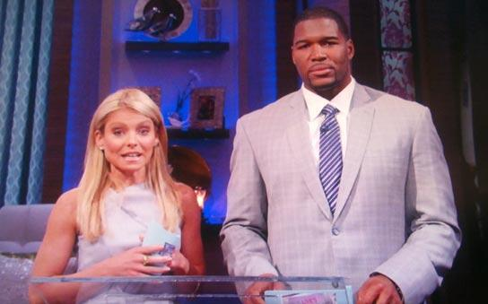 NFL Star Michael Strahan Top Contender To Be Kelly Ripa's Co-Host