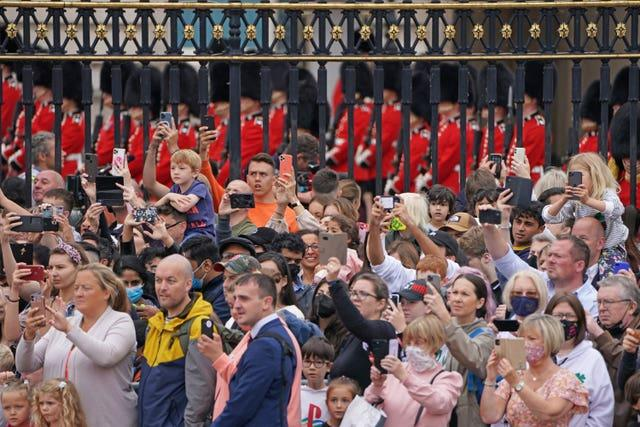 Changing the Guard at Buckingham Palace