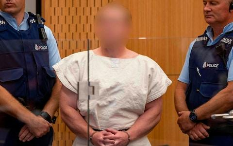 Brenton Tarrant, the man charged in relation to the Christchurch massacre - Credit: AFP