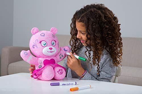 """<p><strong>Doodle Bear</strong></p><p>amazon.com</p><p><strong>$19.99</strong></p><p><a href=""""https://www.amazon.com/dp/B07SK9TJ2D?tag=syn-yahoo-20&ascsubtag=%5Bartid%7C10055.g.29352000%5Bsrc%7Cyahoo-us"""" rel=""""nofollow noopener"""" target=""""_blank"""" data-ylk=""""slk:Shop Now"""" class=""""link rapid-noclick-resp"""">Shop Now</a></p><p>Now this is a classic that you might remember from your own childhood: The Doodle Bear. New and improved, she comes with three washable doodle markers and coordinates with the Doodle Bear Studio app to bring her doodles to life. On the app, your 4-year-old can customize the background with stickers or even more doodles which can be saved and shared with friends. The Doodle Bear is <strong>washable which makes for endless, repeated play</strong>. <em>Ages 3+</em><br></p>"""