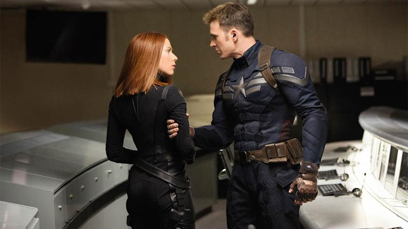 An image from one of the best Marvel movies Captain America: The Winter Soldier