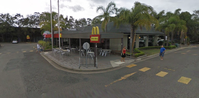 The McDonald's in Warriewood.