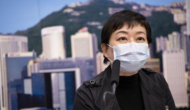 Dr Chuang Shuk-kwan, head of the Centre for Health Protection's communicable disease branch, has warned the city to brace itself for a surge of new cases. Photo: Warton Li