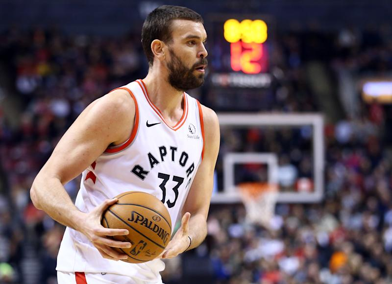 Marc Gasol's long-term absence marks the latest injury to hit the Raptors. (Vaughn Ridley/Getty Images)