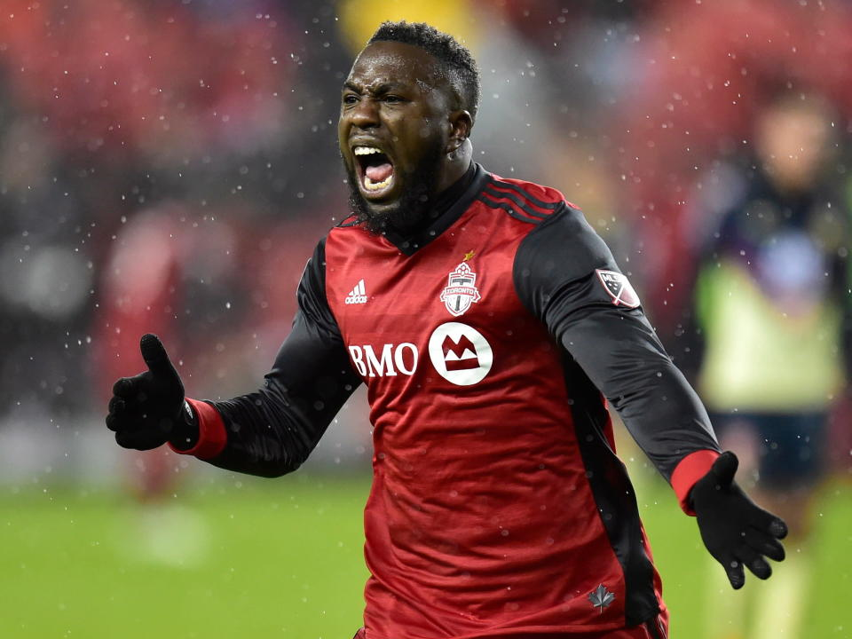 Toronto FC will need Jozy Altidore to pick up the offensive slack left by departed striker Sebastian Giovinco. (AP)