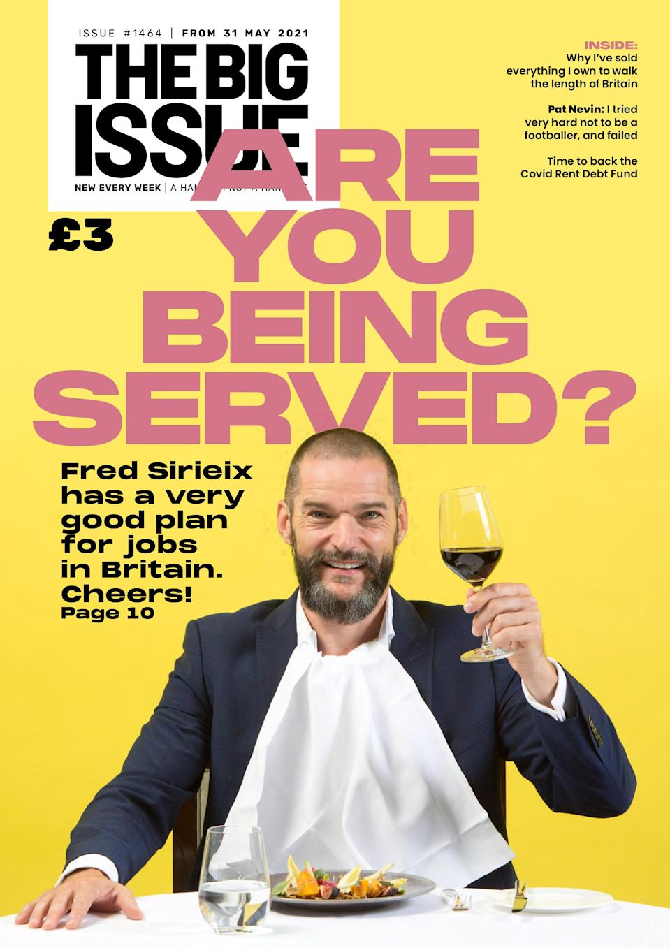 Sirieix discusses the matter in the current issue of The Big Issue (The Big Issue/PA)