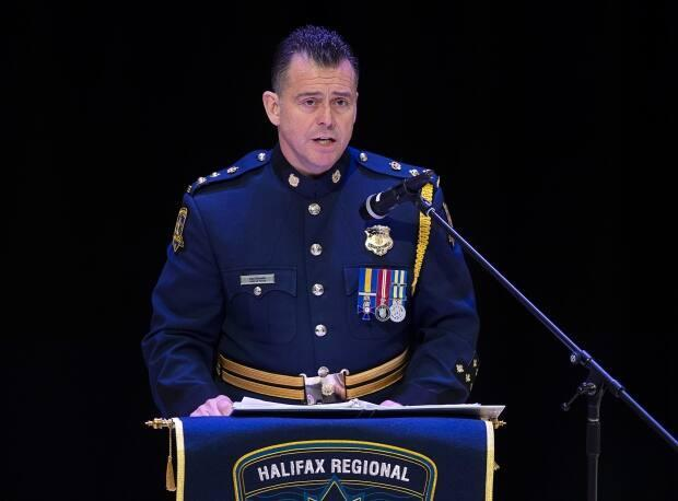 Halifax Regional Police Chief Dan Kinsella apologized in 2019 for years of police street checks that disproportionately targeted Black people.